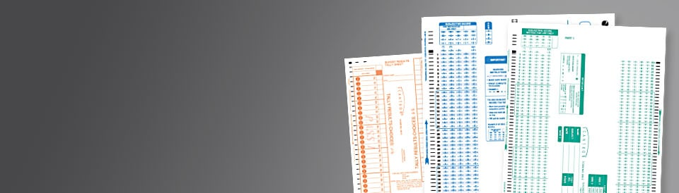 OMR Scantron Forms